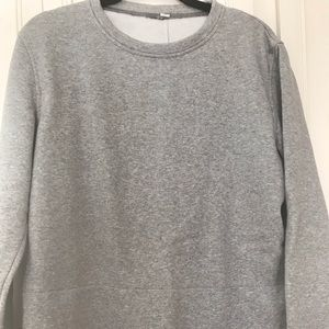 Lululemon grey sweatshirt, Size L